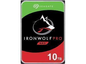 "Seagate Ironwolf Pro 10TB 3.5"" NAS Hard Drive (HDD)"