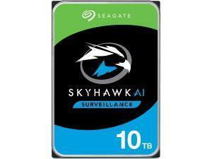 """Seagate Skyhawk AI 10TB 3.5"""" Surveillance Hard Drive (HDD)"""
