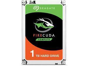 Seagate FireCuda Desktop 1TB Hybrid Hard Drive SSHD 3.5inch SATA III 6GBs 7200RPM 64MB Cache