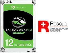 "Seagate BarraCuda Pro 12TB 3.5"" Desktop Hard Drive (HDD)"