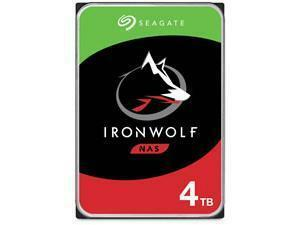 "Seagate IronWolf 4TB 3.5"" NAS Hard Drive (HDD)"