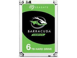 "Seagate BarraCuda 6TB 3.5"" Desktop Hard Drive (HDD)"