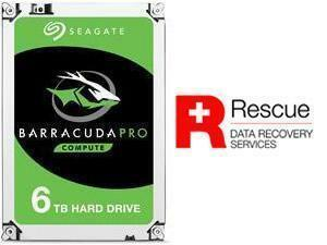 "Seagate BarraCuda Pro 6TB 3.5"" Desktop Hard Drive (HDD)"