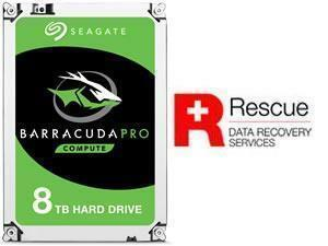 "Seagate BarraCuda Pro 8TB 3.5"" Desktop Hard Drive (HDD)"