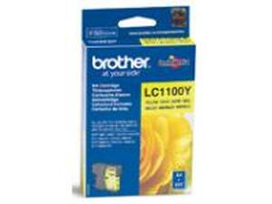 Brother LC1100Y Yellow Ink Cartridge - Standard