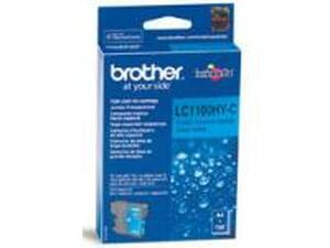 Brother LC1100HYC Cyan Ink Cartridge - High Yield