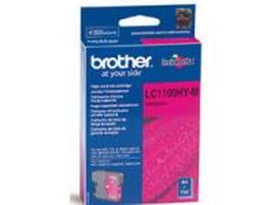 Brother LC1100HYM Magenta Ink Cartridge - High Yield