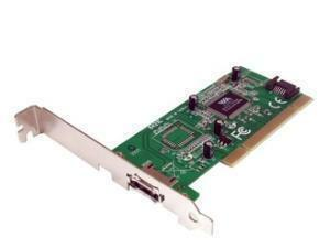 *B-stock item-90 days warranty*StarTech.com 1 Port eSATA plus 1 Port SATA PCI SATA Controller Card w/ LP Bracket - 1 x 7-pinFemale Serial ATA/150 External SATA