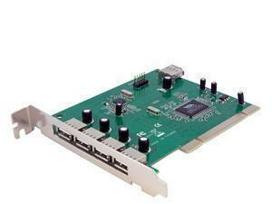 *B-stock item - 90 days warranty*StarTech.com 7 Port PCI USB Card Adapter - 4 x 4-pin Type A Female USB 2.0 USB External