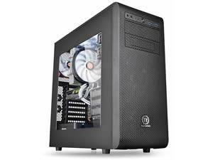 Thermaltake Core V31 Mid Tower case, Black, Windowed