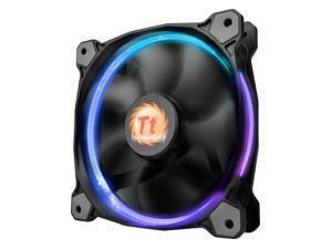 Thermaltake 120mm Riing 12 PWM LED RGB - 3 Fan Pack