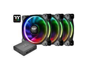 Riing Plus 14 LED RGB Radiator Fan TT Premium Edition (3 Fan Pack)