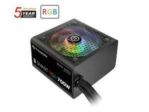 Thermaltake Smart RGB 700W Non-Modular 80 Plus White ATX Power Supply
