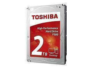 Toshiba P300 2TB 64MB Cache Hard Drive SATA 6GB/s 7200rpm - OEM