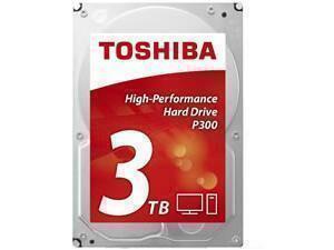 Toshiba P300 3TB 64MB Cache Hard Drive SATA 6GB/s 7200rpm - OEM