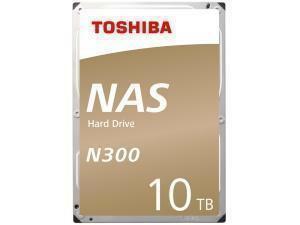 "Toshiba N300 10TB 3.5"" NAS Hard Drive (HDD)"