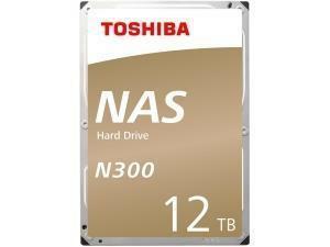 "Toshiba N300 12TB 3.5"" NAS Hard Drive (HDD)"