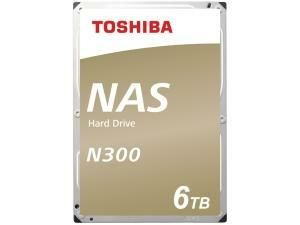 "Toshiba N300 6TB 3.5"" NAS Hard Drive (HDD)"