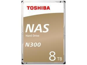 Toshiba N300 8TB 128MB Cache Hard Drive SATA 6GB/s 7200rpm - OEM