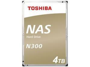 "Toshiba N300 4TB 3.5"" NAS Hard Drive (HDD)"