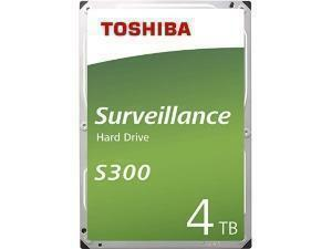 "Toshiba S300 4TB 3.5"" Surveillance Hard Drive (HDD)"
