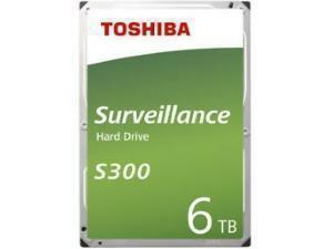 "Toshiba S300 6TB 3.5"" Surveillance Hard Drive (HDD)"