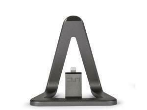 Veho DS-1 Charge and Sync Docking Station for iPhone/iPod with 1.5m MFi Lightning Cable  Aluminium Grey