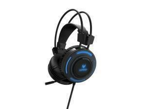 VPRO VH200 Gaming Illuminated Headset Black