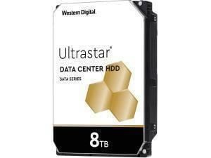 WD Ultrastar SATA 8TB 3.5inch Data Center Hard Drive HDD