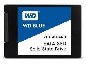 "*B-stock item - 90 days warranty*WD Blue 2TB 2.5"" 7mm Solid State Drive/SSD"