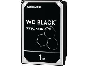 WD Black 1TB 64MB Cache Hard Disk Drive SATA 6 Gb/s 150MB/s 7200rpm - OEM