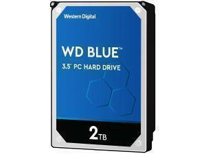 """WD Blue 2TB 3.5"""" Desktop Hard Drive (HDD)"""