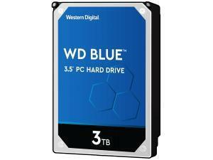 "WD Blue 3TB 3.5"" Desktop Hard Drive (HDD)"