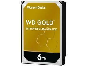 WD Gold 6TB 3.5inch Datacenter Hard Drive HDD