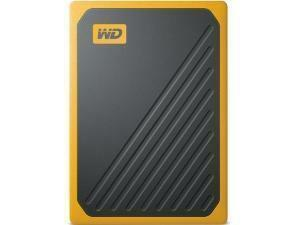 WD My Passport Go External 1TB Solid State Drive (SSD) - Yellow