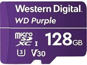 Western Digital Purple 128GB Micro SDXC Class 10 Memory Card