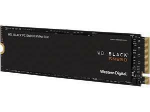 WD Black SN850 500GB M.2 PCIe 4.0 NVMe SSD No Heatsink
