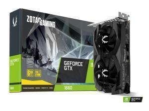 Zotac GTX 1660 Twin Fan 6GB Graphics Card