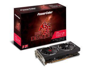 Powercolor Red Dragon RX 5500 XT 8GB GDDR6 Graphics Card