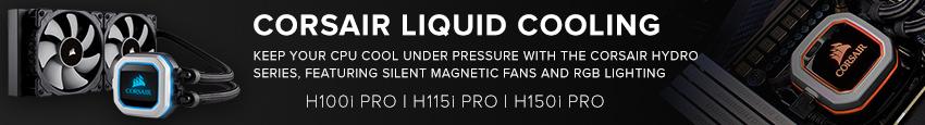 Corsair RGB Liquid Cooling