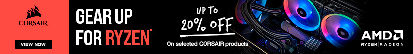 Corsair Ryzen 7 Promotion