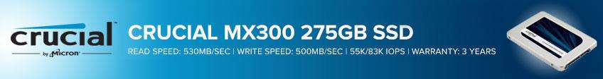 Crucial MX300 SSD