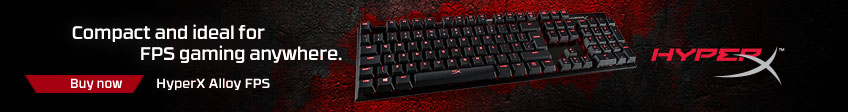 HyperX Alloy Keyboard