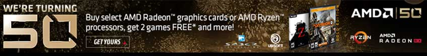 AMD 50 Years Promotion