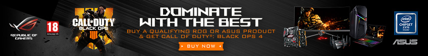 Asus Call of Duty Black Ops Promotion