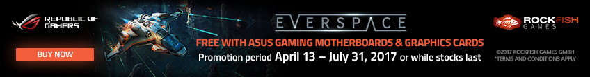 Asus Everspace Game Promotion