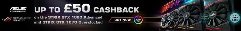 Asus Strix Cashback Promotion