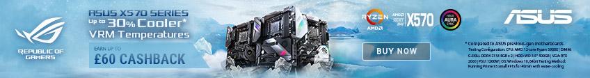 Asus X570 Cashback Promotion