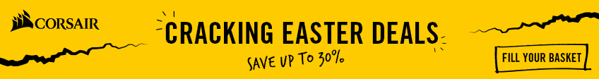 Corsair Easter Sale