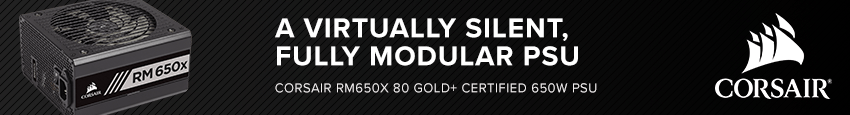 CORSAIR RM650x 80 PLUS Gold Fully Modular ATX Power Supply